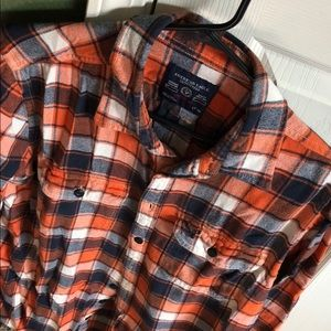 American Eagle Flannel - orange - athletic - LT